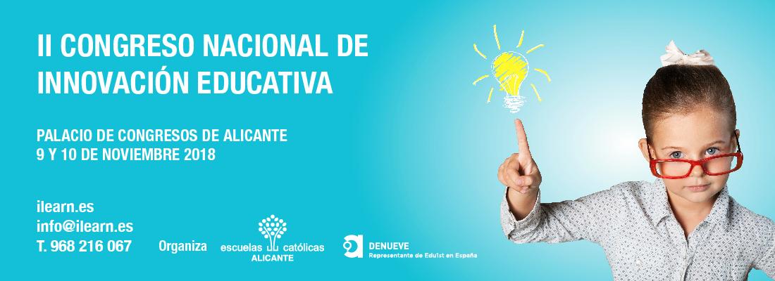Denueve y Edu1st colaboran en el II Congreso Nacional de Innovación Educativa.